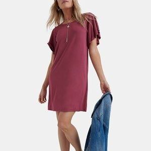 Lucky Brand Sand Wash T-Shirt Dress